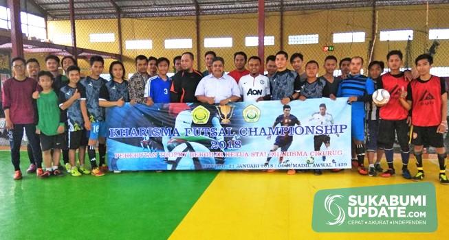 STAI Kharisma Cicurug Sukabumi Gelar Turnamen Futsal